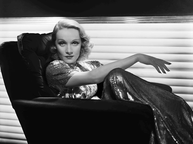 Marlene Dietrich - George Hurrell Photographer