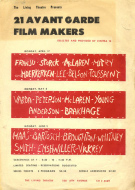 Avant Garde Film Makers (1961 event)