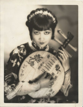ANNA MAY WONG OVERSIZE PORTRAIT FROM MR WU BY CLARENCE SINCLAIR BULL (1927)
