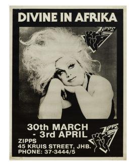 DIVINE IN AFRIKA (ca 1983) Poster