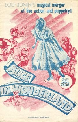 ALICE IN WONDERLAND [ALICE AU PAYS DES MERVEILLES] (1949)