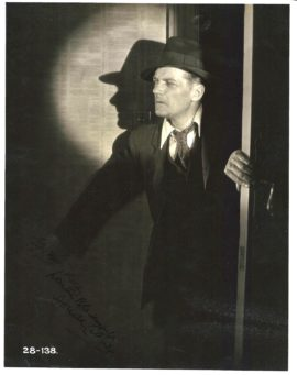 BLACKMAIL (1929) / DONALD CALTHROP-SIGNED PHOTO
