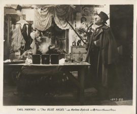 BLUE ANGEL, THE/WITH MARLENE DIETRICH AND EMIL JANNINGS (1930)