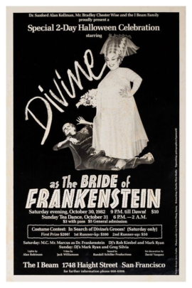 DIVINE AS THE BRIDE OF FRANKENSTEIN (1982)