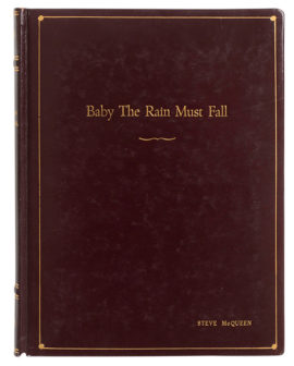 BABY THE RAIN MUST FALL formerly THE TRAVELING LADY [SCRIPT] FINAL DRAFT by Horton Foote. August 24, 1963
