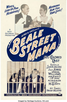 BEALE STREET MAMA/ONE SHEET POSTER (1946)