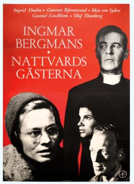 Ingmar Bergman's NATTVARDSGASTERNA [WINTER LIGHT] (1962)