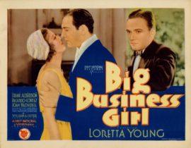 BIG BUSINESS GIRL (1931)
