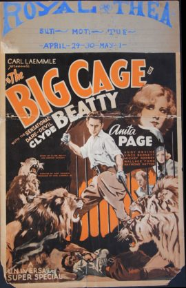 BIG CAGE, THE (1933)