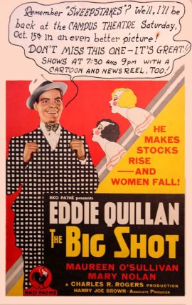 BIG SHOT, THE (1931)