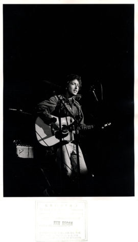 BOB DYLAN AT CONCERT FOR BANGLADESH (1971)