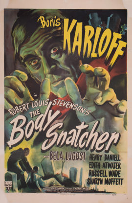 BODY SNATCHER, THE/BORIS KARLOFF (1945)