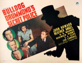BULLDOG DRUMMOND'S SECRET POLICE (1939) - 2