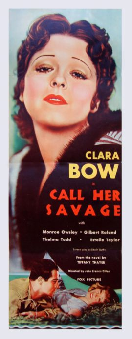 CALL HER SAVAGE (1932)