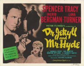 DR. JEKYLL AND MR. HYDE COLOR-GLOS ADVERTISING PHOTO (1941)