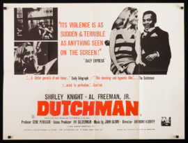 (JONES, LEROI, later known as BARAKA, AMIRI) DUTCHMAN (1967)