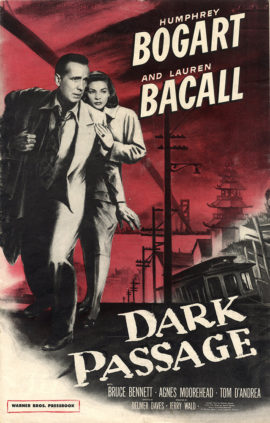 DARK PASSAGE CAMPAIGN BOOK (1947)