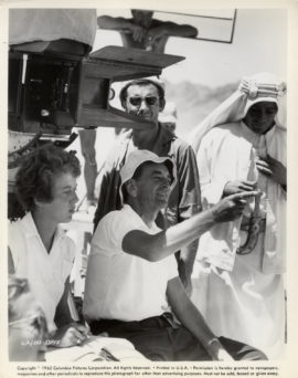 LAWRENCE OF ARABIA / DAVID LEAN DIRECTING (1962)