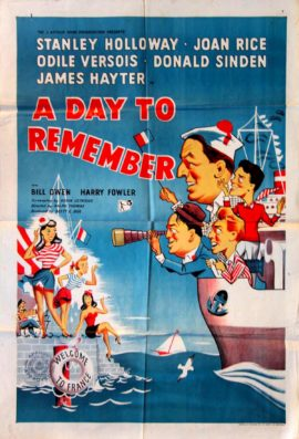 DAY TO REMEMBER, A (1953)