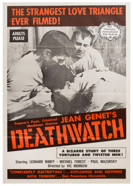 DEATHWATCH (1966) One Sheet Poster
