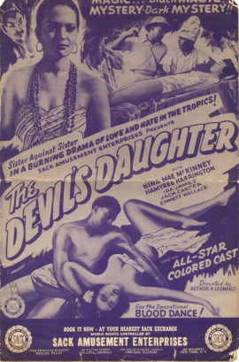 DEVIL'S DAUGHTER, THE/ PRESSBOOK (1939)