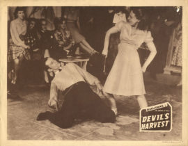 DEVIL'S HARVEST (1942, reissue ca 1945)