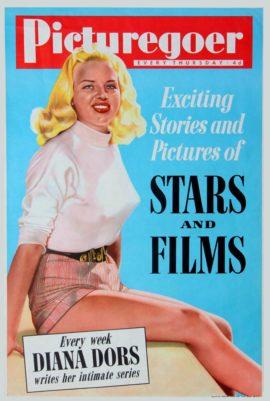 DIANA DORS / PICTUREGOER (ca. 1955)