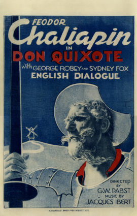 DON QUIXOTE (ADVENTURES OF DON QUIXOTE) (1933)