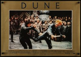 DUNE (1984) Set of 8 Italian fotobustas