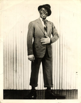 DUSTY FLETCHER OVERSIZE PORTRAIT (Ca. 1948)