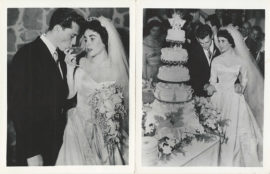 ELIZABETH TAYLOR MARRIES NICKY HILTON (1951)