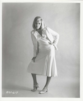 FAYE DUNAWAY BONNIE AND CLYDE PORTRAIT ATRIBUTED TO AVEDON (1967)