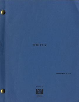 (CRONENBERG, DAVID, DIRECTOR) THE FLY Vintage film script.