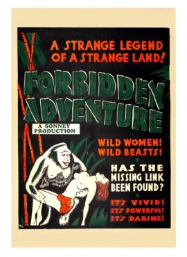 FORBIDDEN ADVENTURE (ca. 1937)
