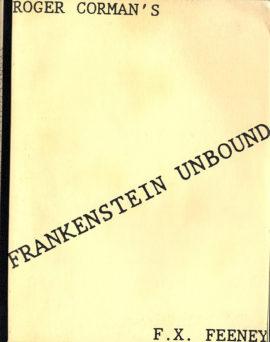 (CORMAN, ROGER, DIRECTOR) FRANKENSTEIN UNBOUND (1989) Vintage original film script.