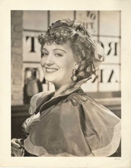 GONE WITH THE WIND -P25- ONA MUNSON AS BELLE WATLING PORTRAIT