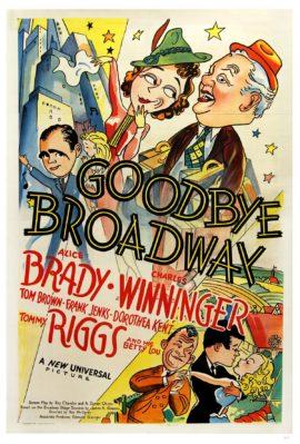 GOODBYE BROADWAY (1938)