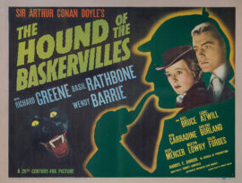 HOUND OF THE BASKERVILLES, THE- HALF SHEET (1939)