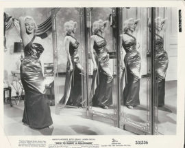 HOW TO MARRY A MILLIONAIRE /MARILYN MONROE IN MIRRORS (1953)