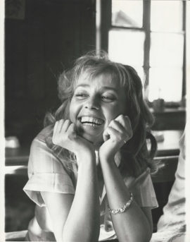 JULES AND JIM JEANNE MOREAU PORTRAIT BY PETER BASCH (1961)
