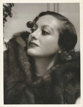 JOAN CRAWFORD PORTRAIT BY C. S. BULL (1933)