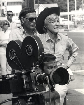 JUNIOR BONNER WITH SAM PECKINPAH (1972)