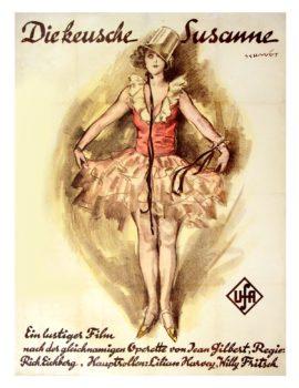DIE KEUSCHE SUSANNE [GIRL IN THE TAXI] (1926)