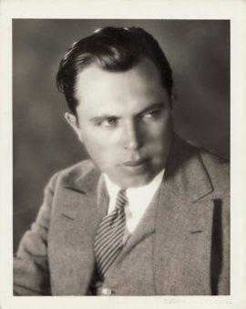 KING VIDOR PORTRAIT (ca. 1928)