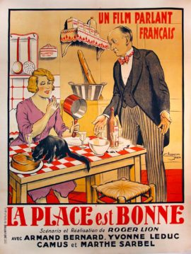 LA PLACE EST BONNE [THE PLACE IS GOOD] (1930)
