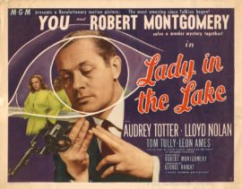 LADY IN THE LAKE (1947) - 2