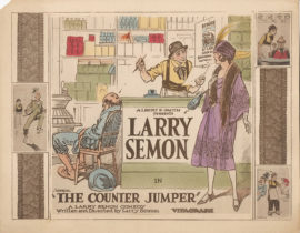 LARRY SEMON IN THE COUNTER JUMPER (1922)