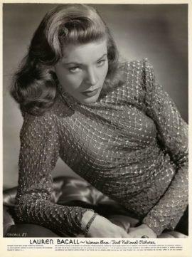 LAUREN BACALL (ca. 1944)