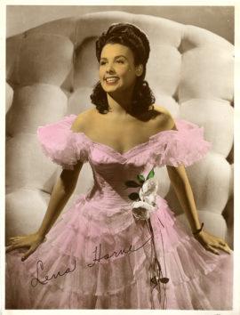 LENA HORNE COLOR-GLOS PHOTO (ca 1945)