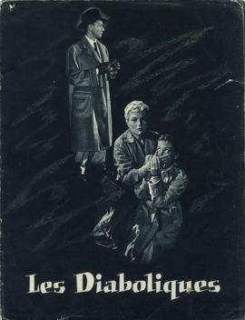 DIABOLIQUE [LES DIABOLIQUES] (1955) Vintage original promotional book, France